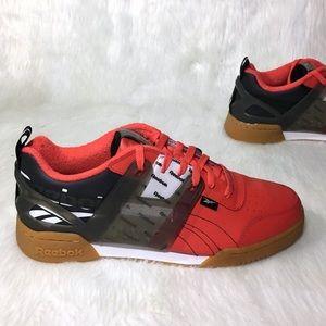 "Red Reebok ""Souljas"". Size 10"